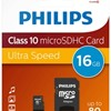 PH MicroSDHC + adapter 16GB class10, PHILIPS*