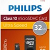 PH MicroSDHC + adapter 32GB class10, PHILIPS*