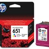 Tinta HP C2P11AE color No.651