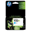 Tinta HP CD972AE cyan No. 920XL.