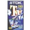 Kazeta video E-180 VHS TDK*