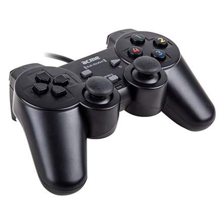 AC USB gamepad dual vibration za PC, GA07